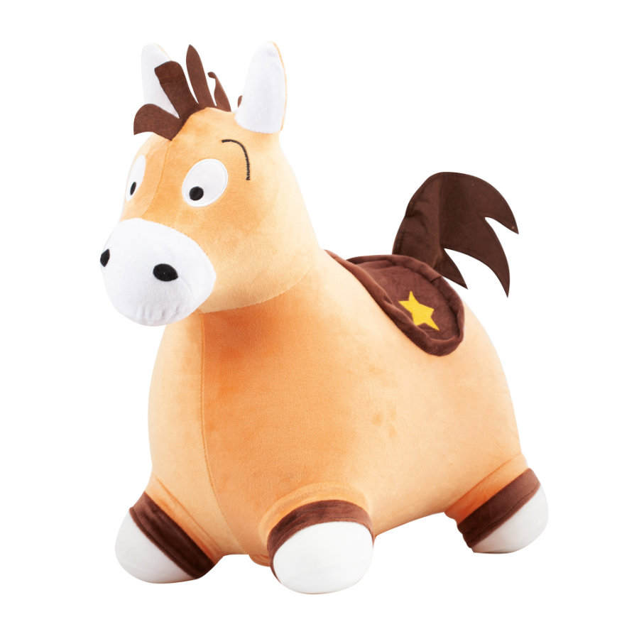John Fluffy Hop Hop Pony pehmustepeitteellä