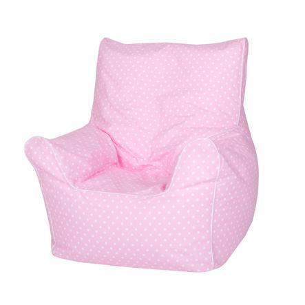 "knorr® toys Kindersitzsack Junior - ""Pink white dots"""