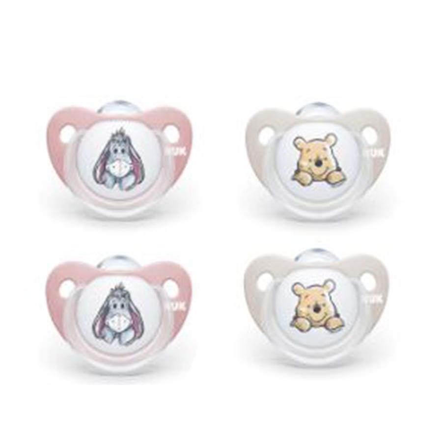 NUK Dummy Trendline Disney Winnie the Pooh , 4 pezzi