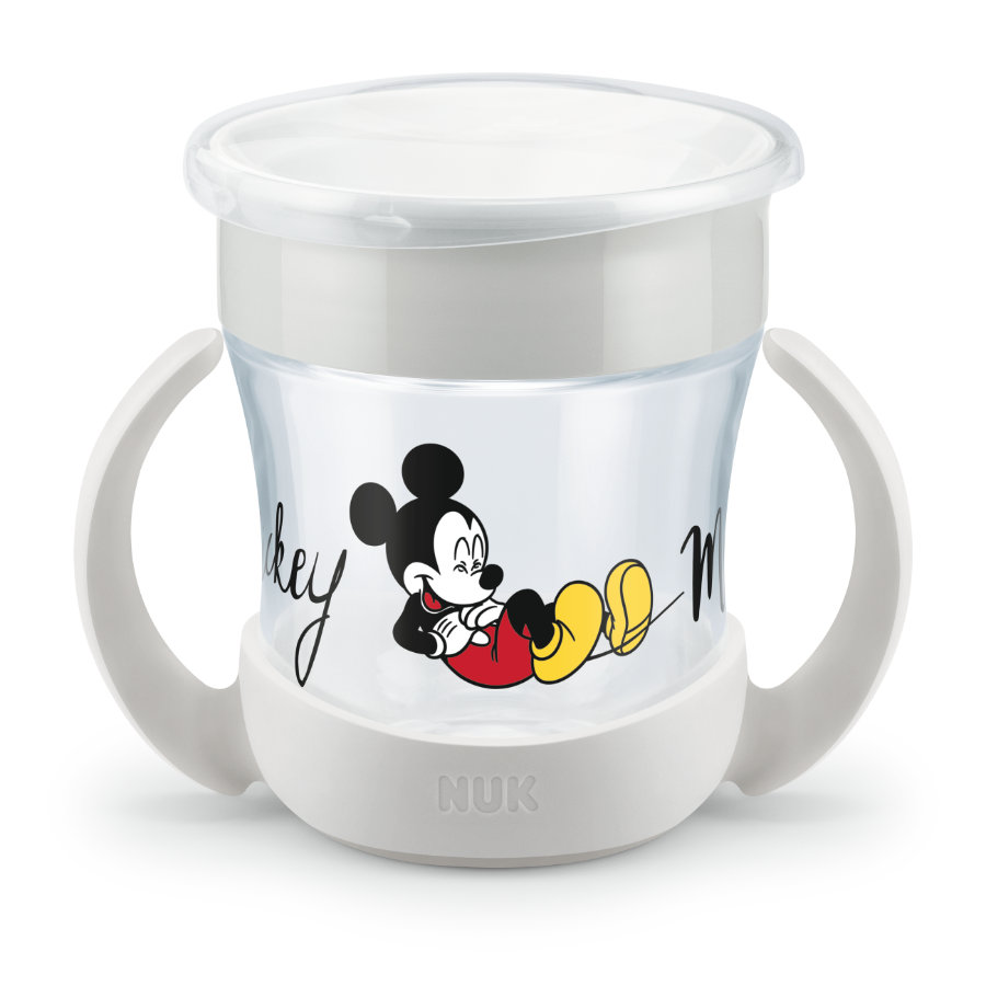 NUK Taza para beber Mini Magic Taza 160 ml del 6º mes Design : Disney Mickey Mouse