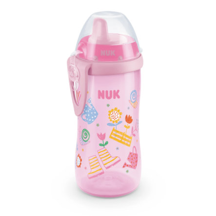 NUK Trinkflasche Kiddy Cup Girl, 300ml
