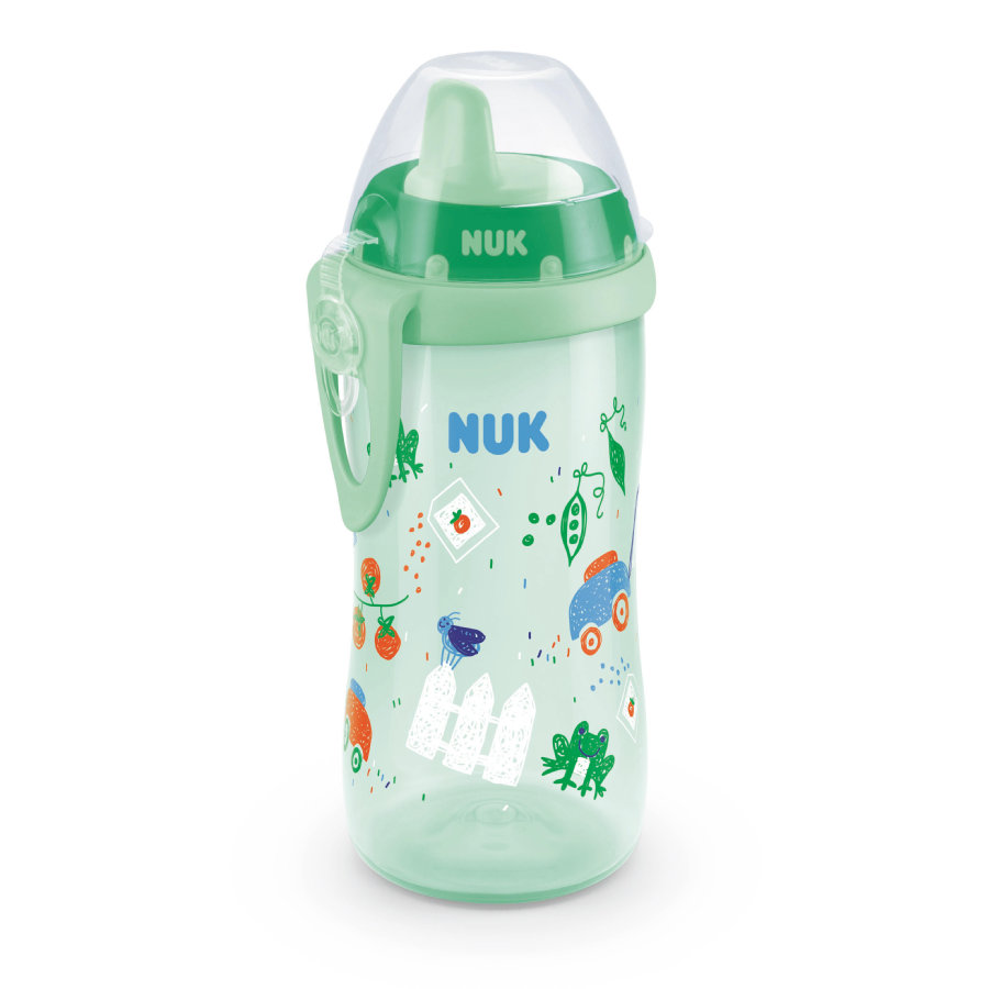 NUK Drikkeflaske Kiddy Cup Boy, 300 ml