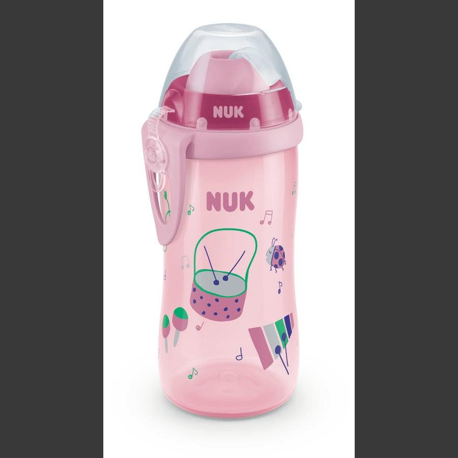 NUK Drikkedunk Flexi Cup Girl, 300 ml