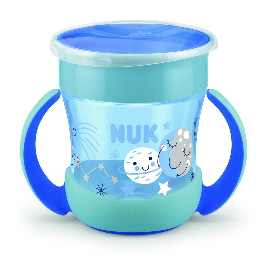 NUK Drickflaska Mini Magic Glow in the Dark Boy i blått