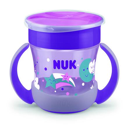NUK Cup Mini Magic Glow in te Dark Girl, 160 ml i lilla