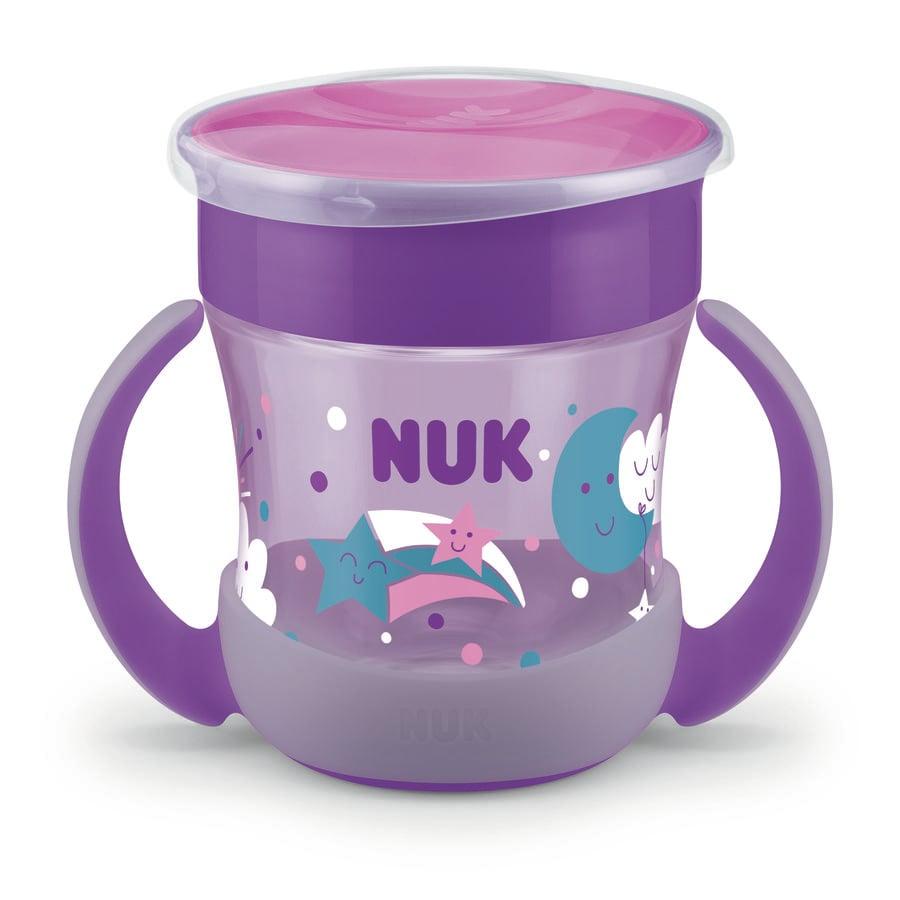 NUK Cup Mini Magic Glow in the Dark Girl, 160ml in lila
