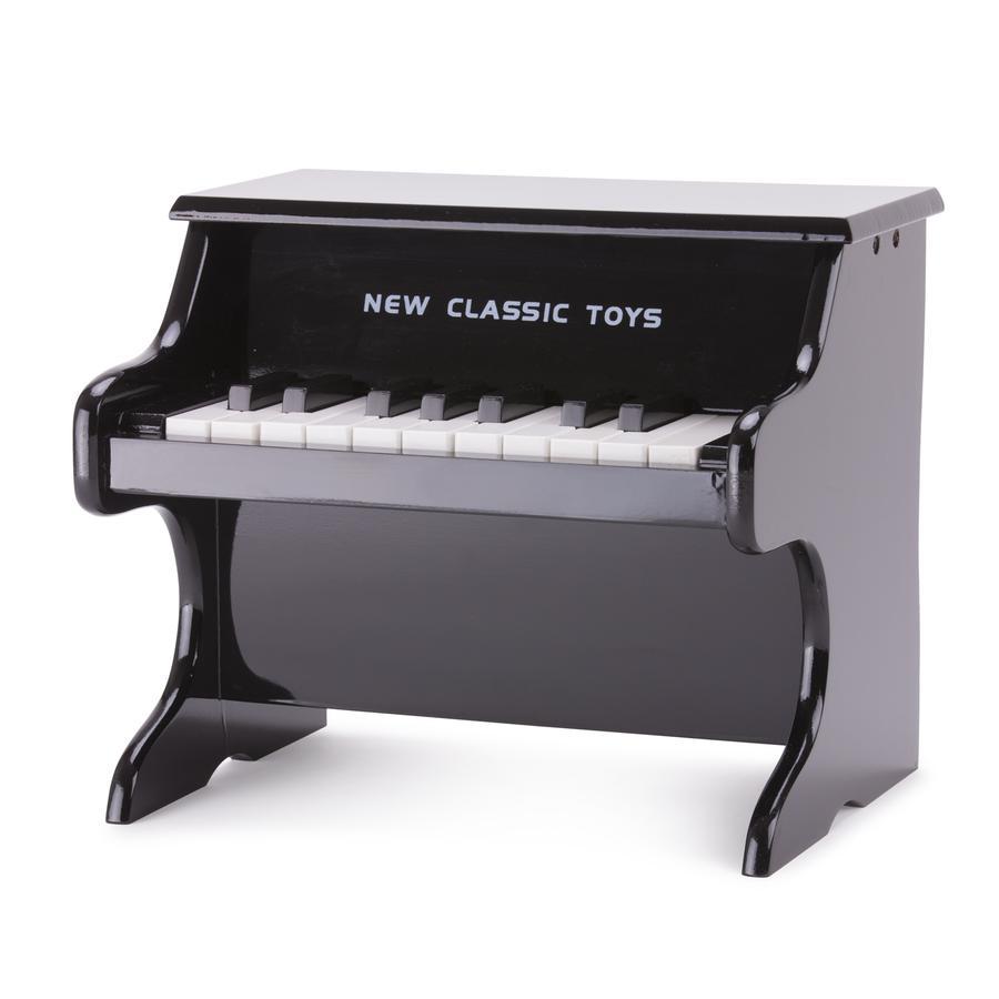 New Classic Toys Piano enfant 18 touches noir bois