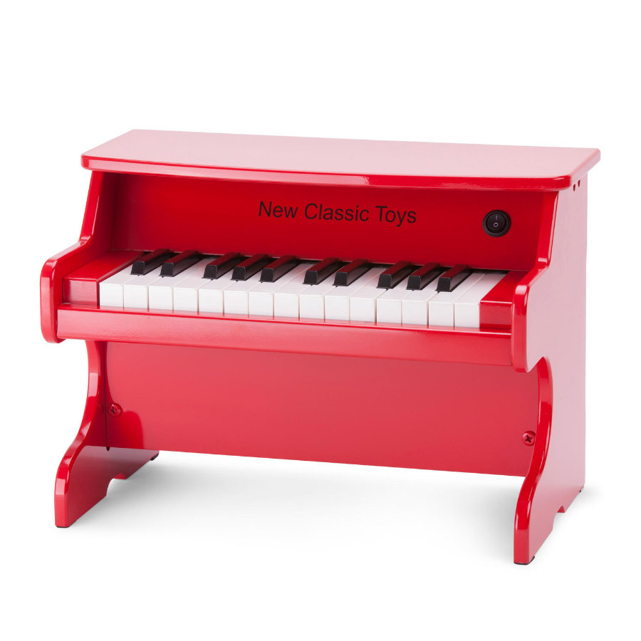 New Classic Toys E-Piano - Rot - 25 Tasten