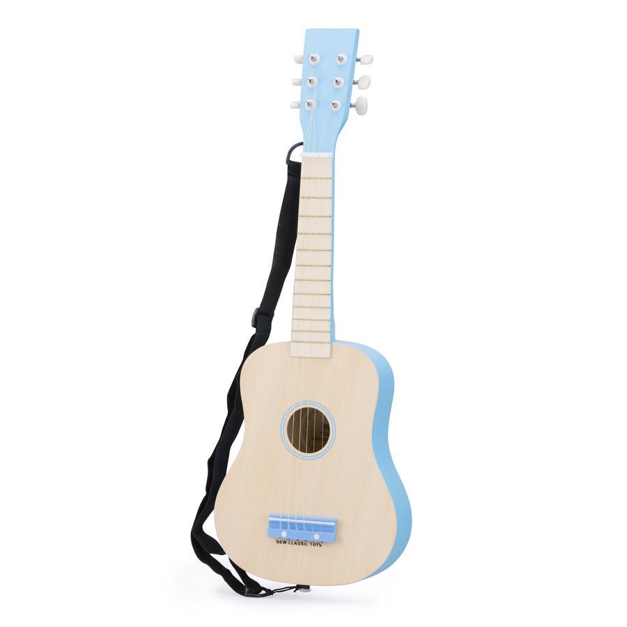 New Classic Toys Gitarre - DeLuxe - Natur/Blau