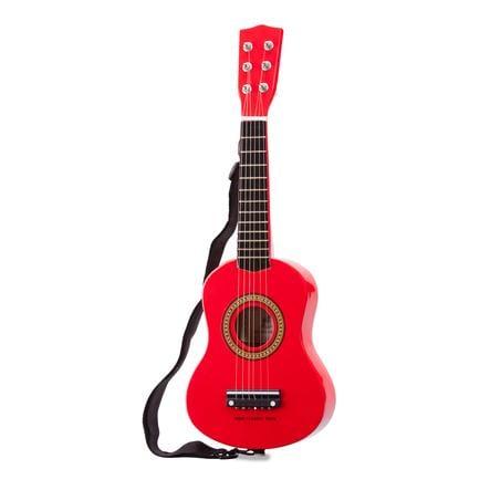 New Classic Toys  leksaksgitarr - röd