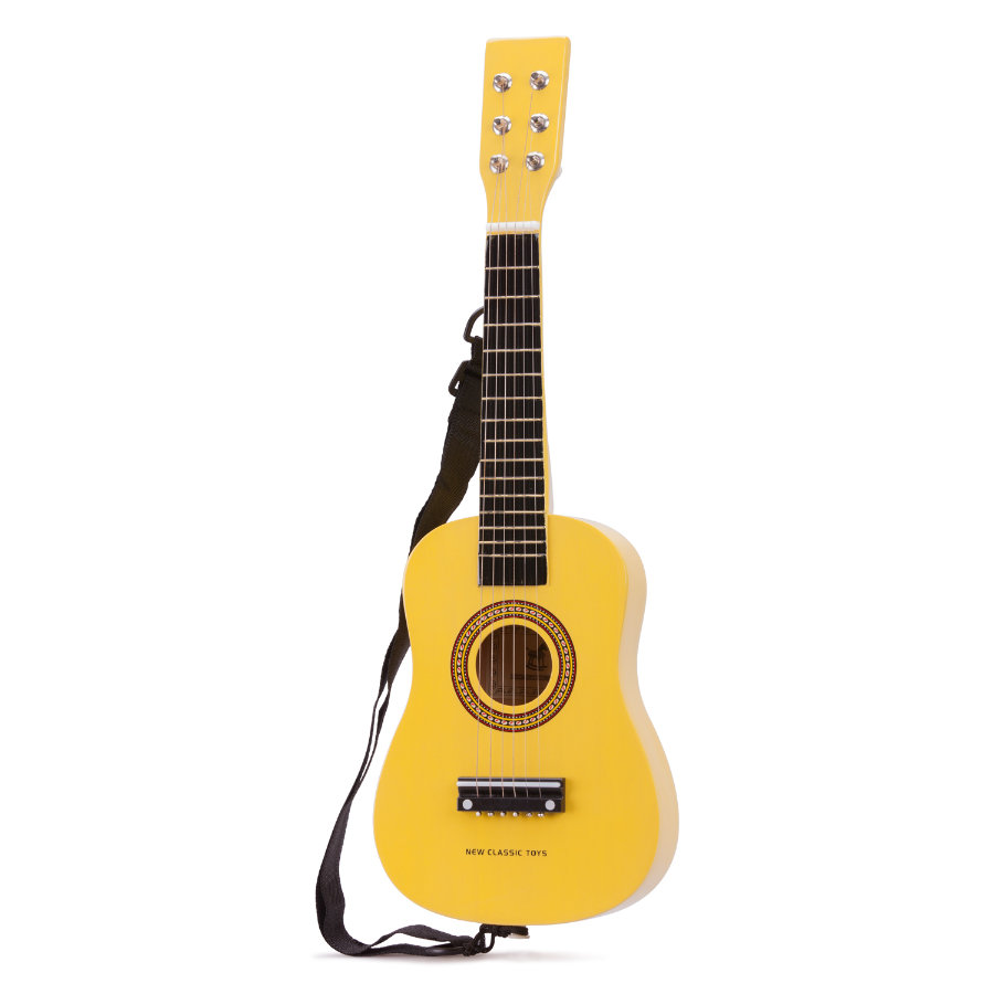 New Classic Toys Gitarre - Gelb