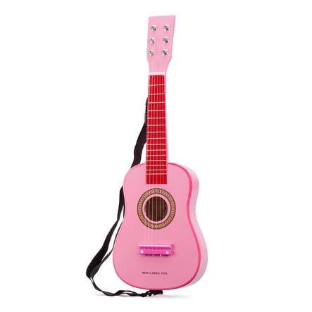 New Classic Toys guitar - lyserød