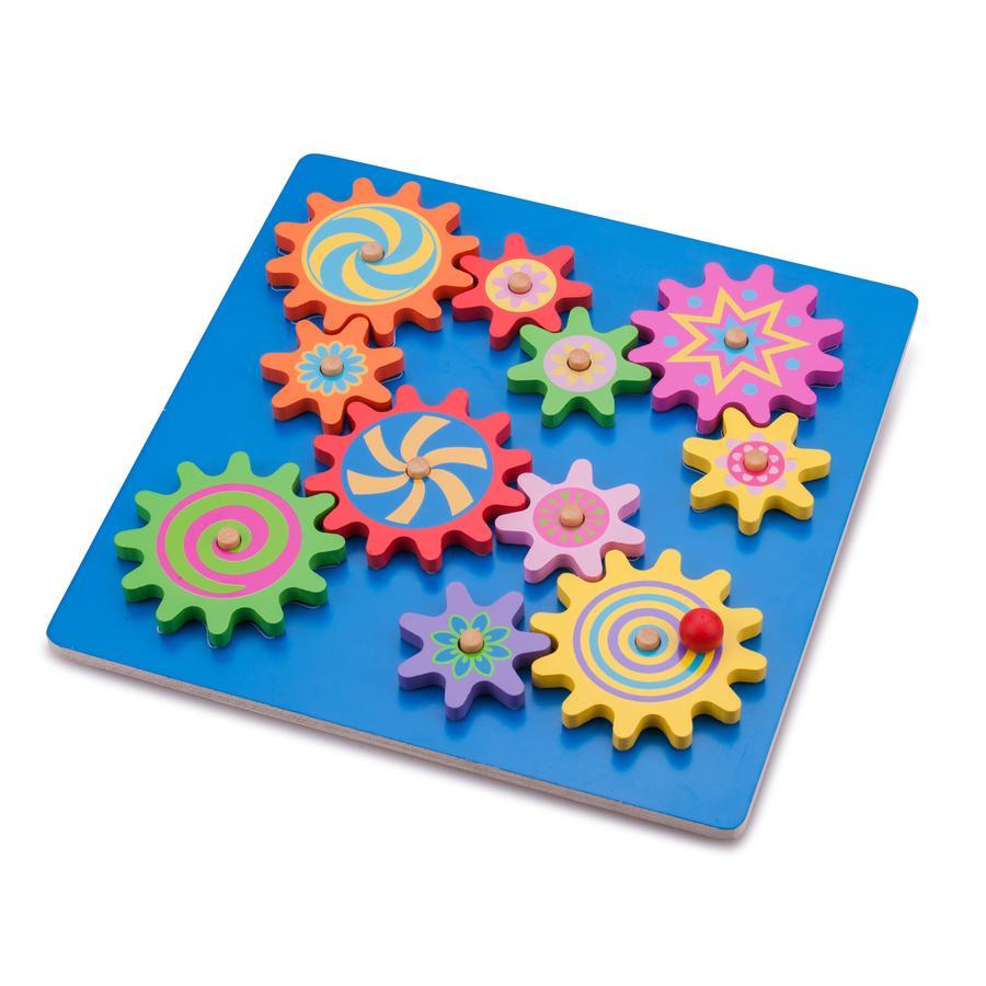 New Class ic Toys Skládačka ozubených kol