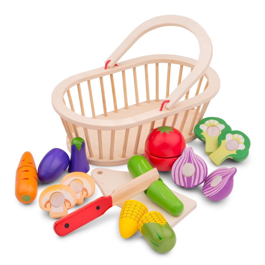 New Class ic Toys Juego de corte de vegetales