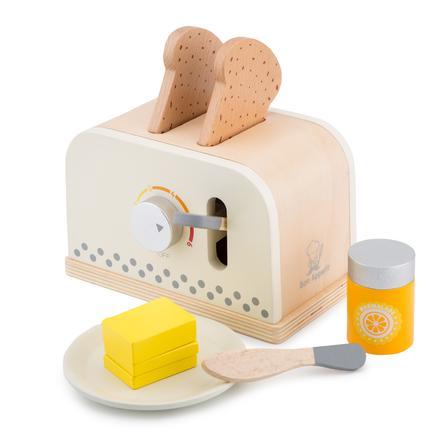New Classic Toys Toaster mit Zubehör - Creme