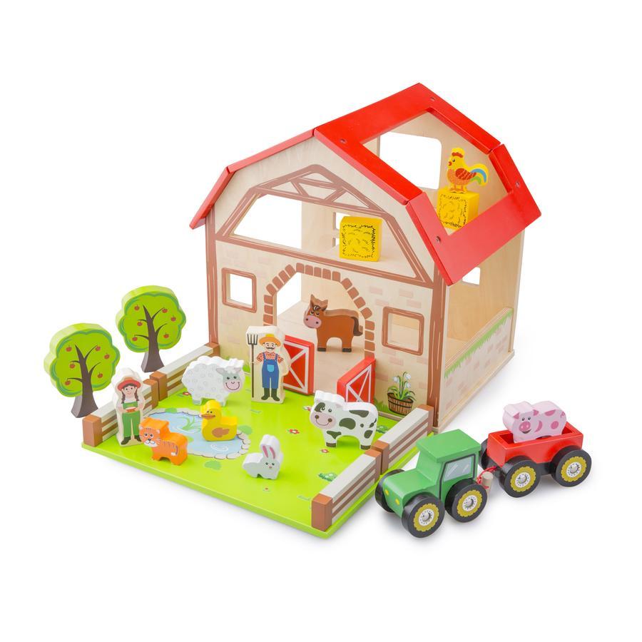 New Classic Toys Farm Play-sæt