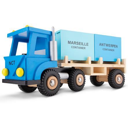 New Classic Toys Figurine camion à conteneurs bois