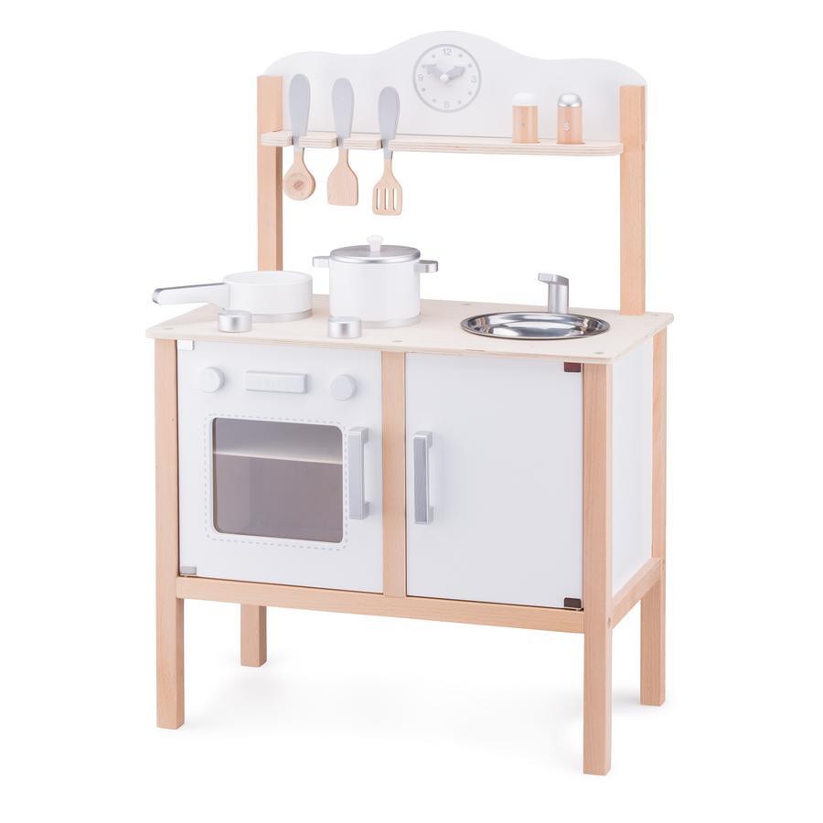 New Classic Toys Küchenzeile - Modern weiß