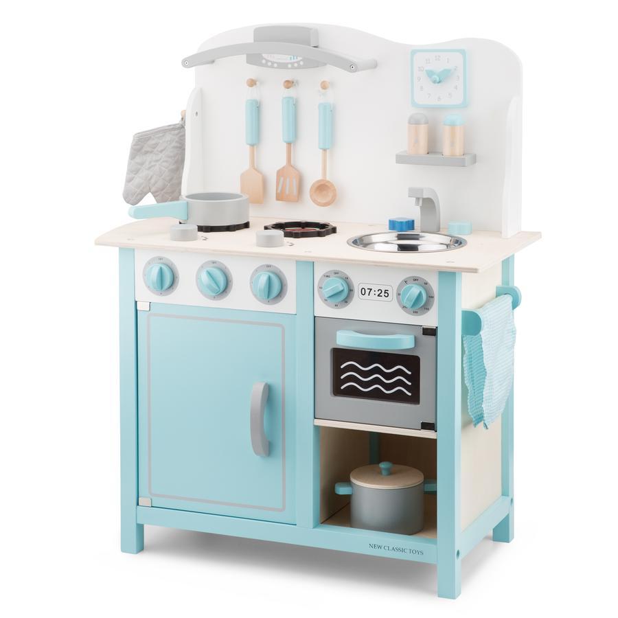 New Classic Toys Küchenzeile Bon Appetit Deluxe blau