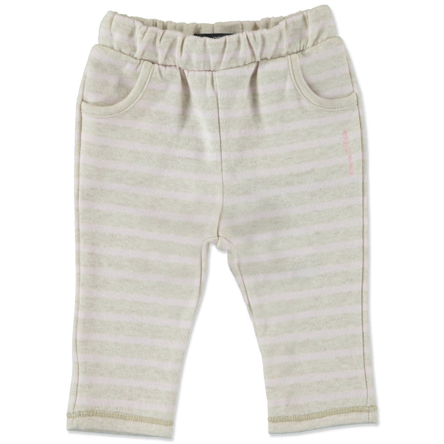 MARC O`POLO Girls Mini Sweatbroek beige melange