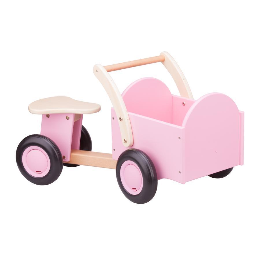 New Classic Toys Rutscher mit pinkem Kasten