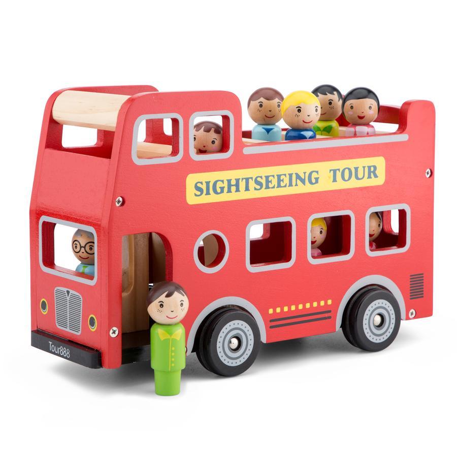 New Classic Toys Sightseeing-Bus inklusive Figuren