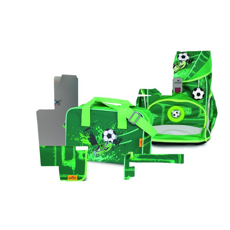 DerDieDas ® ErgoFlex Super light - Green Goal, 5-dílný