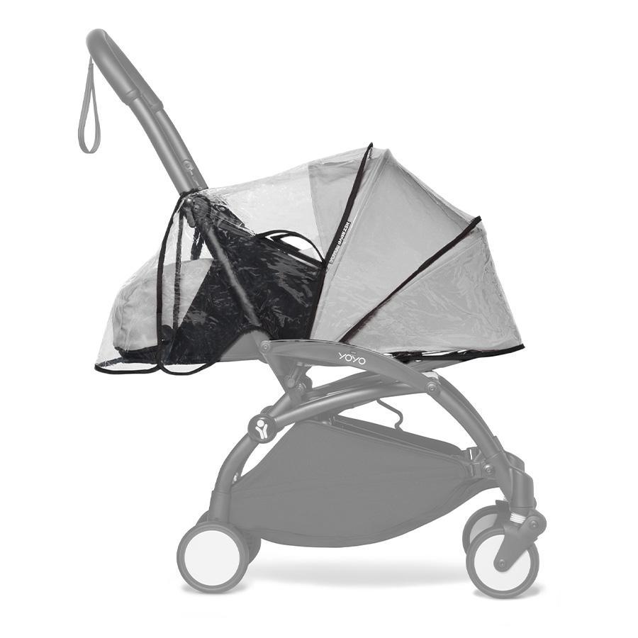 BABYZEN Protection pluie de poussette YOYO 0+ universelle transparente
