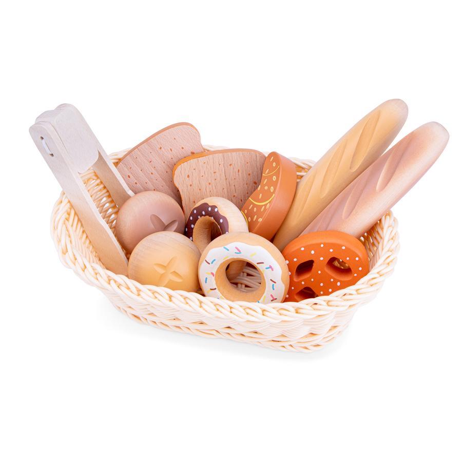 New Classic Toys Corbeille de pain enfant bois