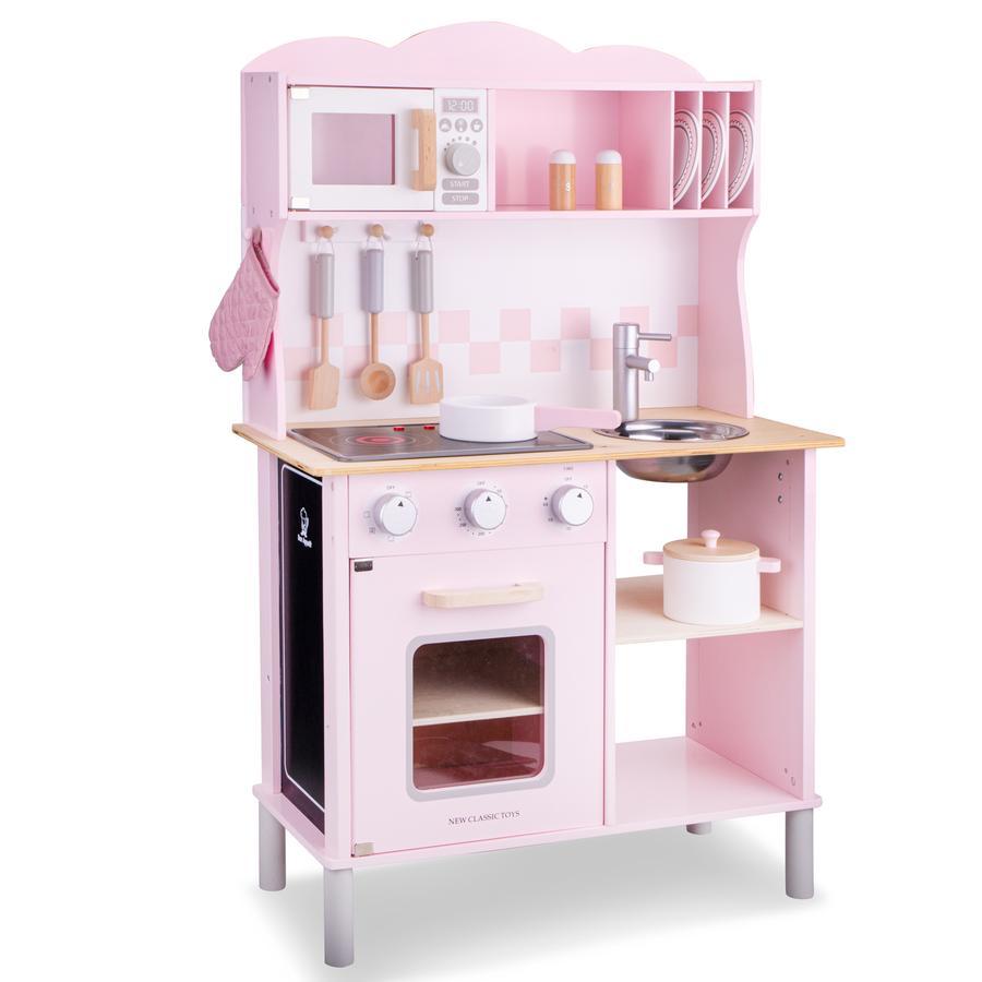 New Classic Toys Kitchenette - Moderne med rosa kokeplate