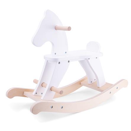 New Classic Toys Schaukelpferd-weiß