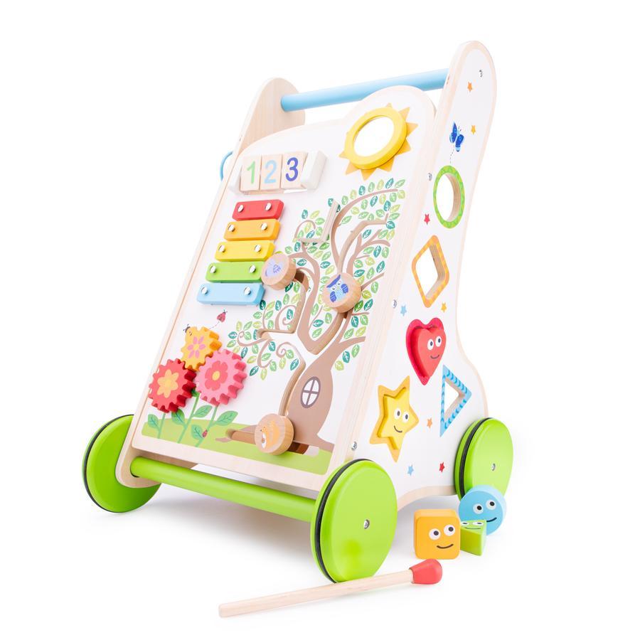 New Classic Toys Chariot de marche enfant bois
