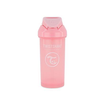 TWIST SHAKE  Bouteille de paille Tasse de paille 360 ml 12+ mois rose pastel