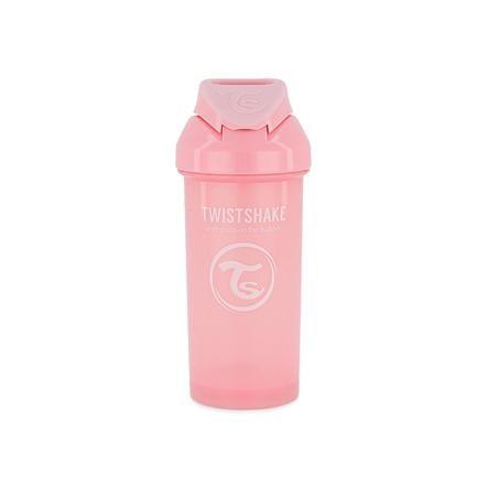 TWISTSHAKE Strohhalmflasche Straw Cup 360 ml 12+ Monate pastel pink