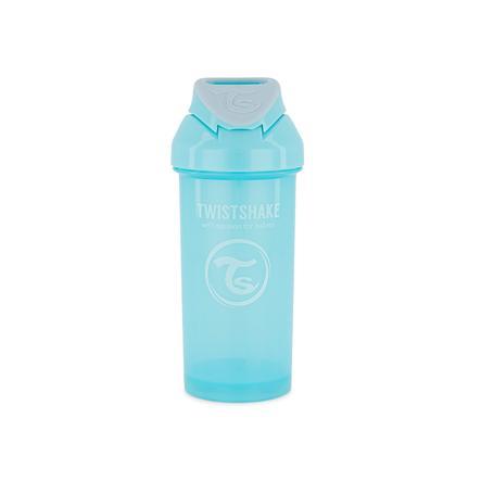 TWISTSHAKE Strohhalmflasche Straw Cup 360 ml 12+ Monate pastel blau