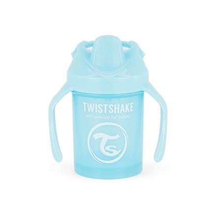 Twist shake Drinkbeker Mini Cup 230ml pastel l blauw