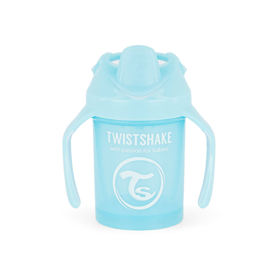 Twist shake Drikke kop Mini Cup 230ml pastelblå