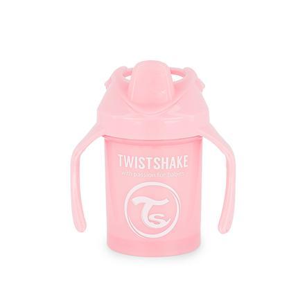 TWIST SHAKE  Gobelet Mini Cup 230 ml 4+ mois rose pastel