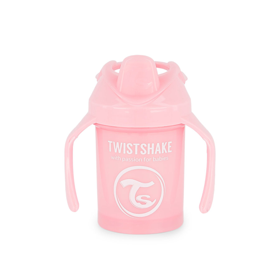 TWIST SHAKE Drikkekopp Mini Cup 230 ml 4+ måneder pastellrosa