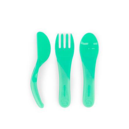 TWISTSHAKE Esslern-Besteck 6+ Monate pastel grün
