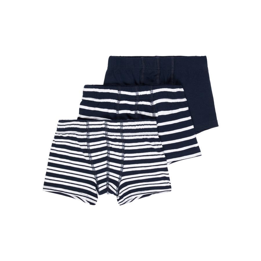 name it Boys Boxer shorts 3-pack saphir foncé