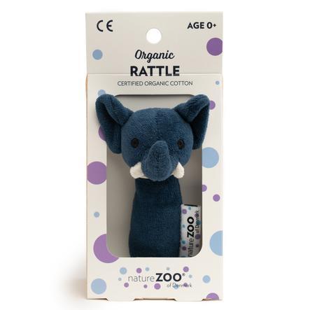 natureZoo of Denmark bio chrastítko - slon, tmavě modré