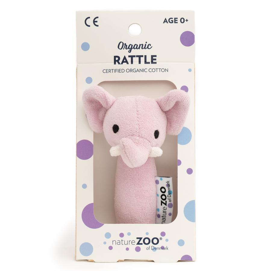 natureZoo of Denmark Bio Rassel - Elefant, rosa