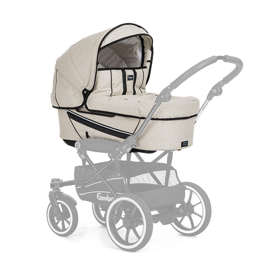 Emmaljunga Kinderwagenset Edge Duo Lounge Beige