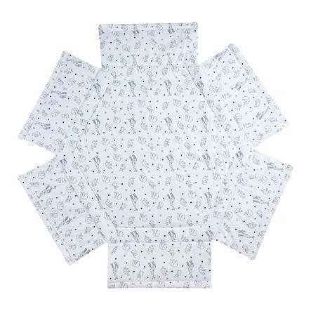 Schardt Tour de parc bébé hexagonal Origami black 122x106 cm