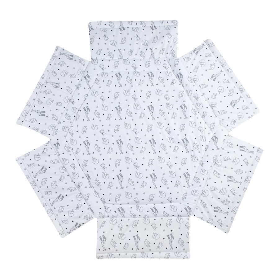 Schardt Lekhage -insats 6-hörns Origami Black