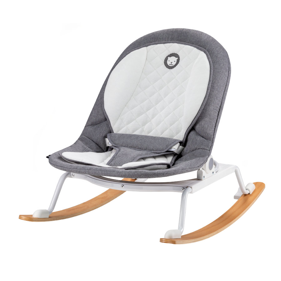 lionelo Babywippe Rosa Grey White