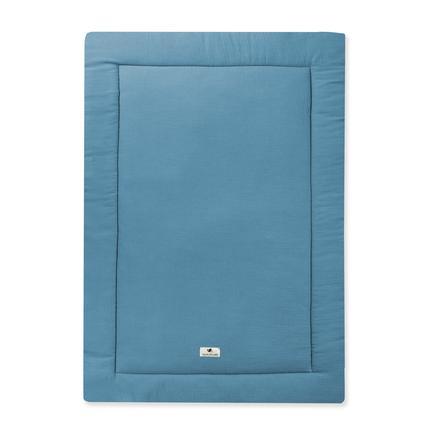 JULIUS ZÖLLNER Krabbeldecke Terra blau 95 x 135 cm