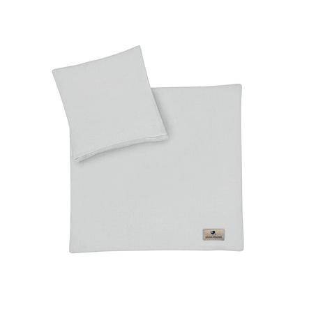 LUGLIO ZÖLLNER Biancheria da letto Terra grigio 80 x 80 cm