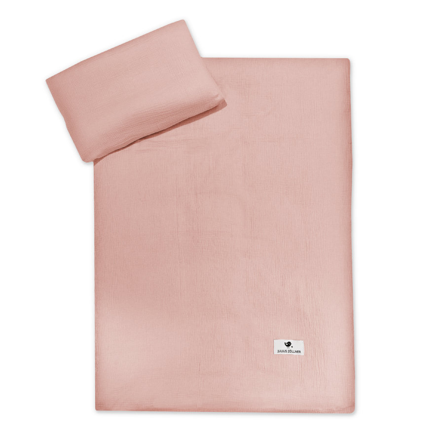 JULIO ZÖLLNER ropa de cama Terra dusty rosa 100 x 135 cm
